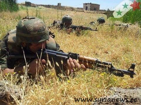 SAA Soldiers
