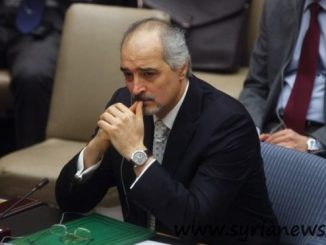 Dr. Bashar Jaafari, Syria permanent representative at the United Nations