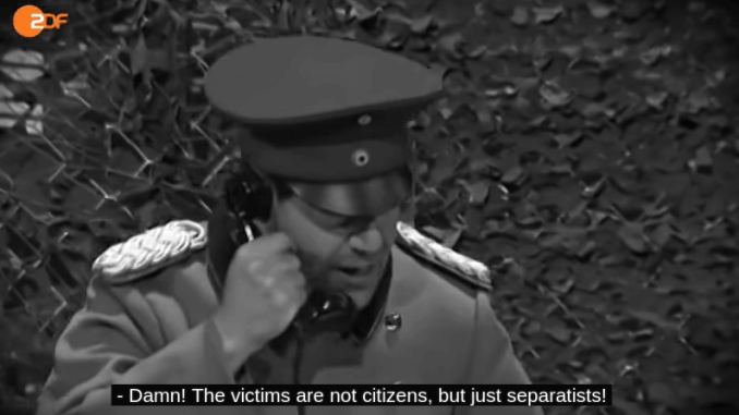 German TV: Double Standards Ukraine