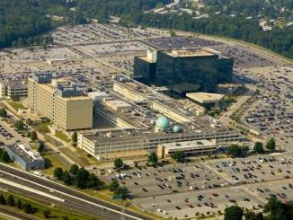 The NSA Headquarters, Fort Meade, Maryland, USA