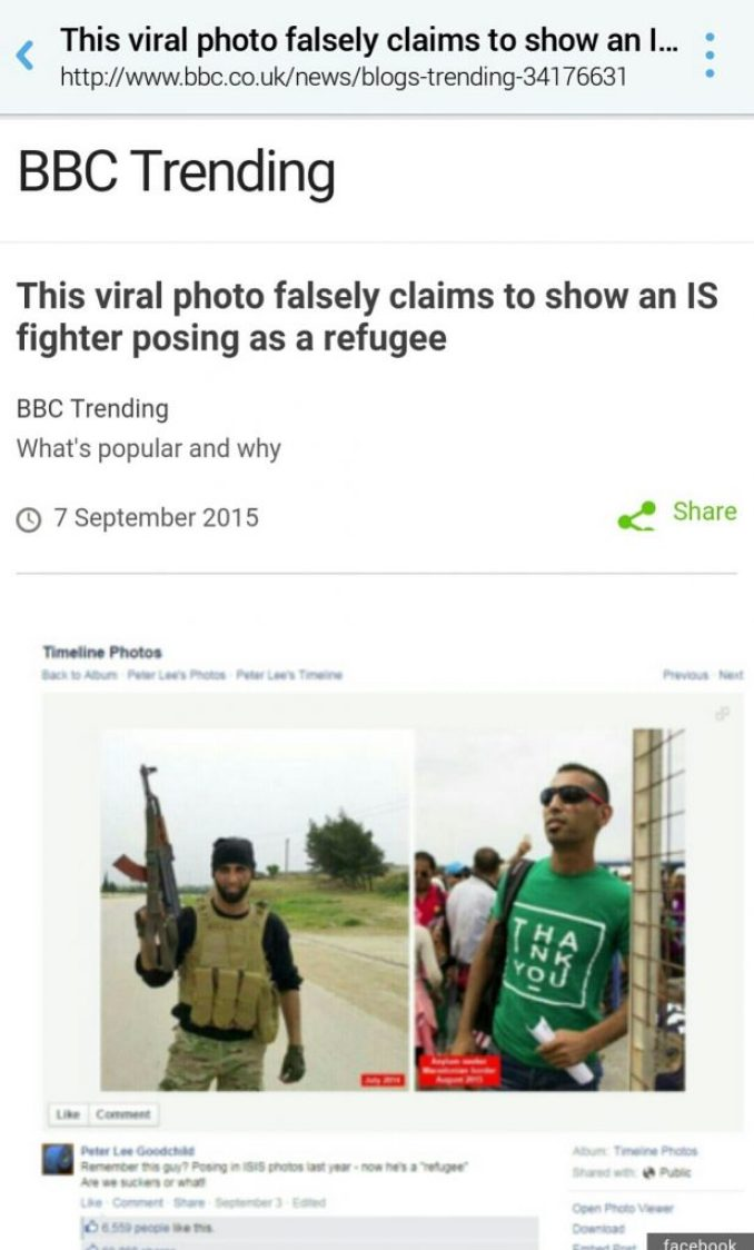 BBC Defend Terrorists
