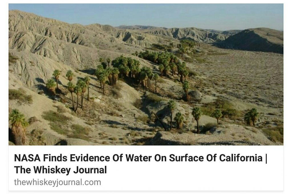 NASA Finds Water on Surface of California | Syria News