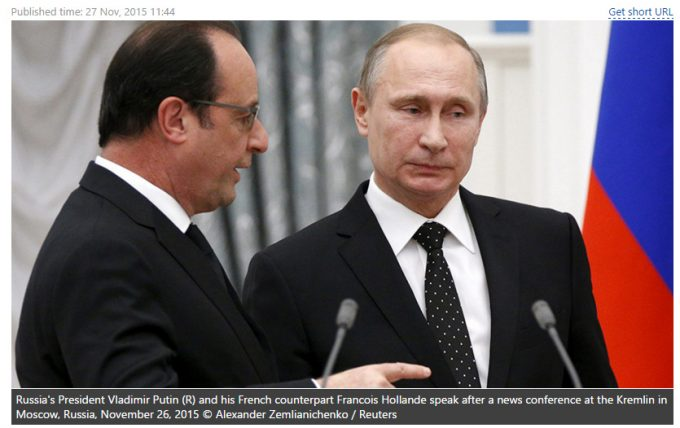 Russia and France to Begin Mephistophelan Waltz, in Syria