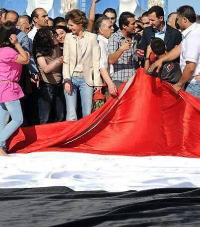 First Lady Asmaa Assad