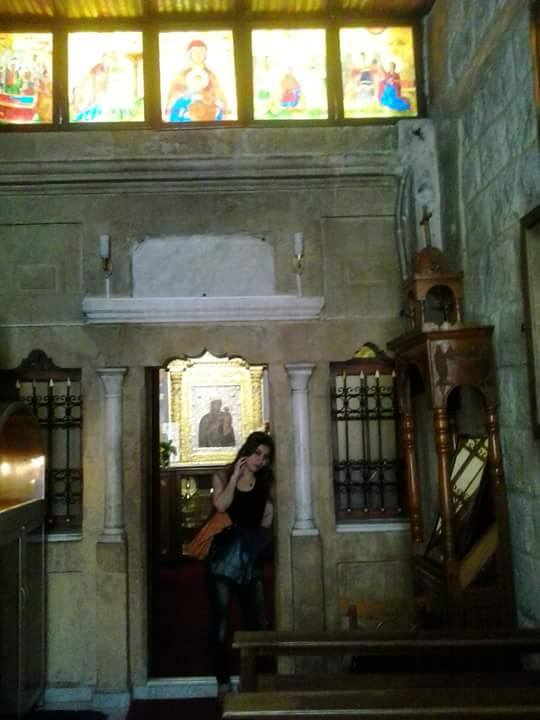 Muslim in church. Syrians are one. No for small states in Syria. No for balkanizing Syria.