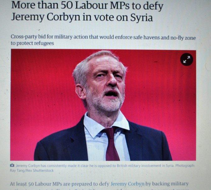 Labor defies Corbyn on SAR