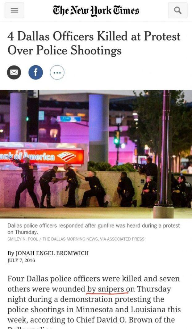 image-Dallas Police Shooting News Reporting