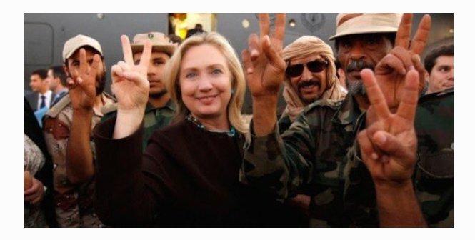 Clinton with takfiri