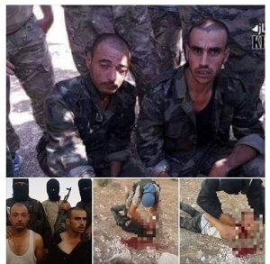 Syrian soldiers brutally murdered for defending their country