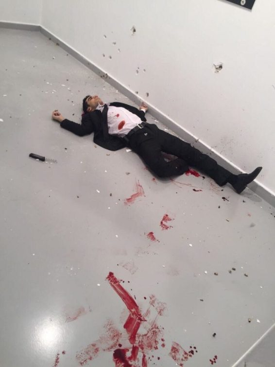 image-Killer of Russian Ambassador Killed
