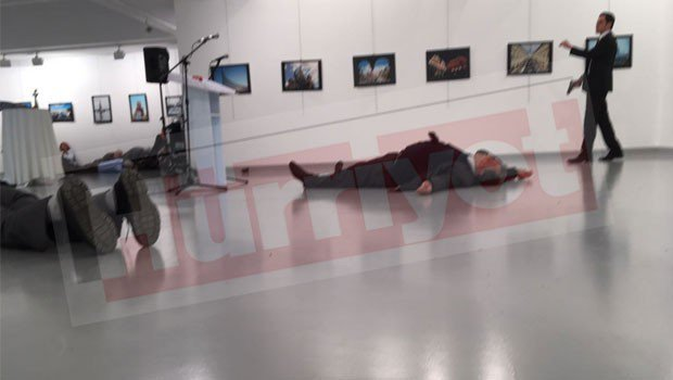image-Russian Ambassador to Turkey Andrey Karlov Shot