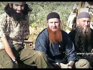 image-Chechen Terrorists in Syria