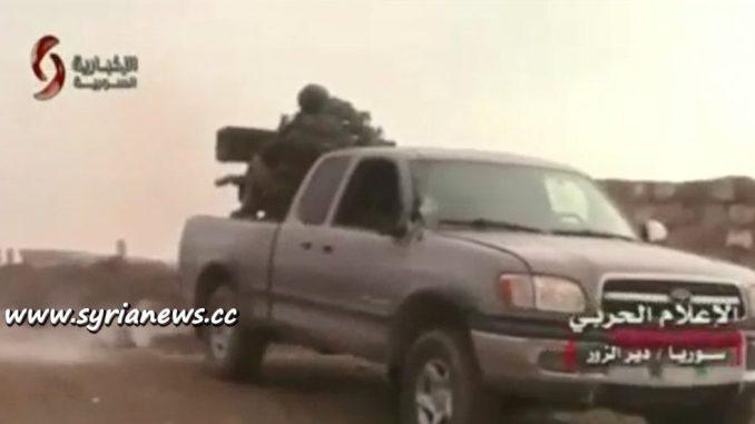 image-SAA Kills More than 400 ISIS Terrorists in Der Ezzor