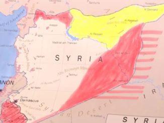 image-Syria Dividing Map - Buffer Zones