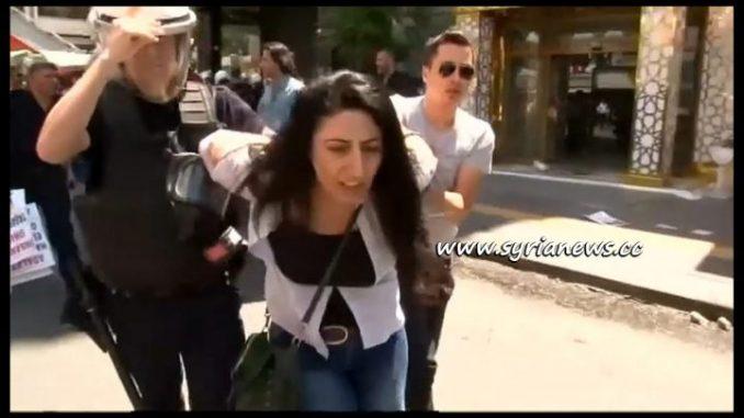 image-Erdogan Thugs Arrest 61 Teachers in a Peaceful Protest in Ankara
