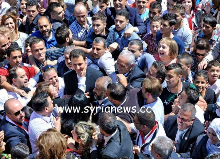 white-helmets - President Assad