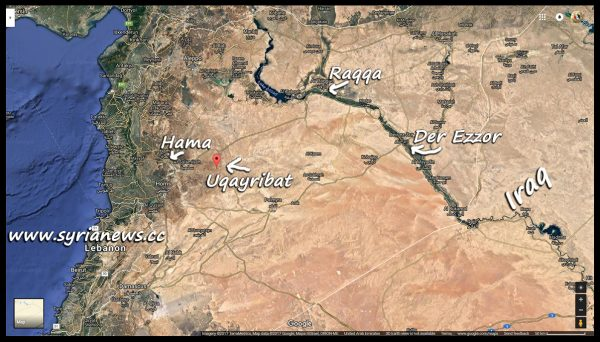 image-map of Uqayribat - Hama Eastern Countryside