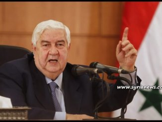 image-Syrian Minister of Foreign Affairs Walid Moallem - Aleppo