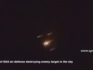 image-Israel Bombs SAA 1st Division Weapons Depot
