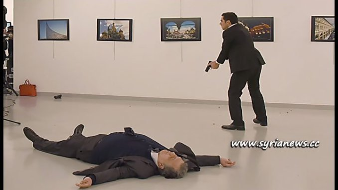 image-Russian Ambassador to Turkey Andrey Karlov assassination