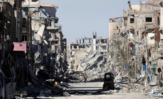 US Coalition has wiped Raqqa off the earth.