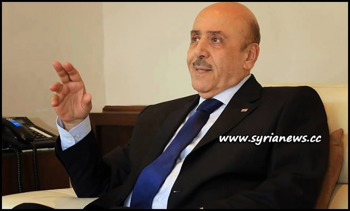 image-Chief of Syrian National Security General Ali Mamlouk