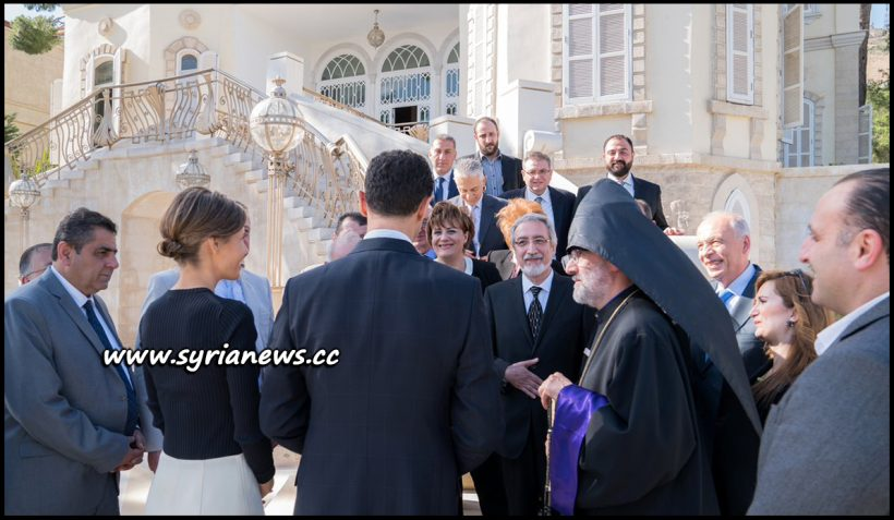 image-Assad and First Lady Receive Aleppo Armenian Community Group