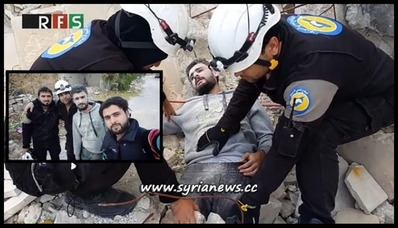Previous Staged Chemical Attack by the White Helmets in Syria