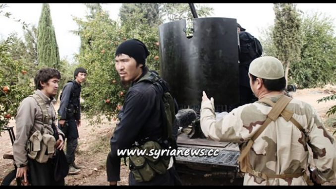 Central Asian Terrorists from the Free Syrian Army 'Moderate Rebels'