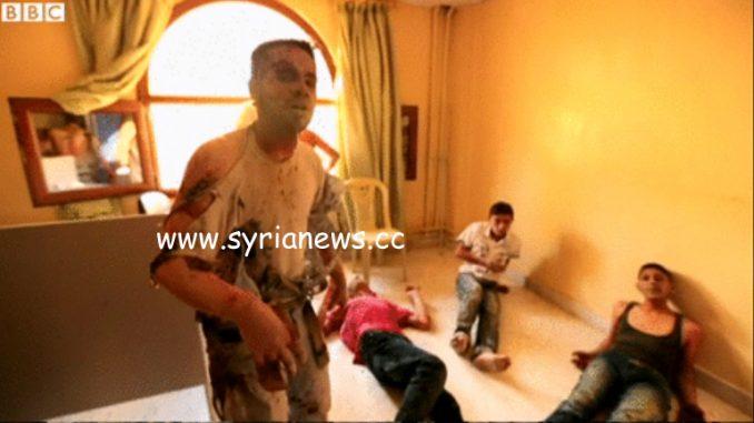 bbc - propaganda - syria - chemical attack