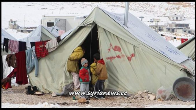 image- Displaced Syrians Refugees in Lebanon - Horrible Conditions
