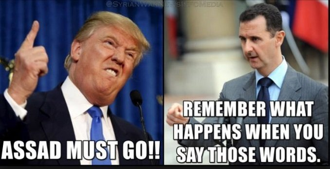 Trump Makes the Deadly Mistake - Assad Must Go