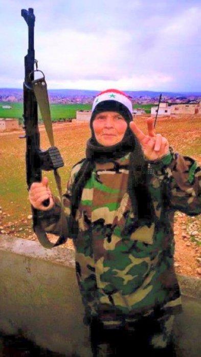 femicide Zenobian warrior, fighting terrorism, fighting the perpetrators of femicide, on behalf of humanity.