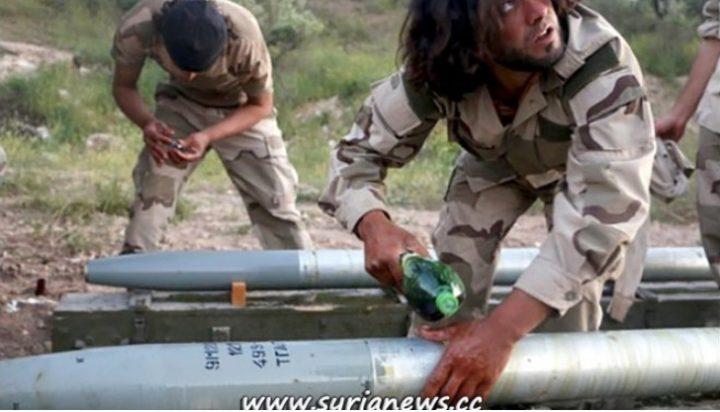 syria - Terrorists of Ltamenah. Archive.