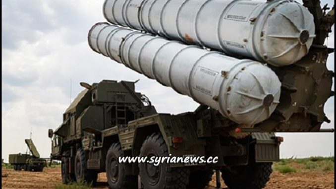 Four S300 Batteries delivered to Syria