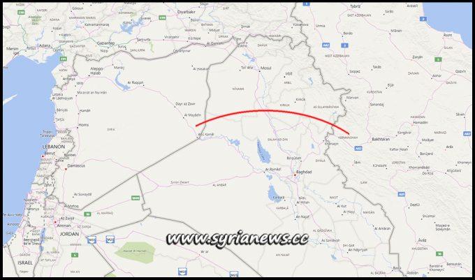 IRGC Bomb Terrorists Camp in East Euphrates, Syria