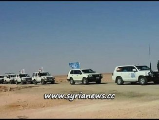 Humanitarian Aid Convoy for Syrian Displaced Refugess in Rukban Refugees Camp