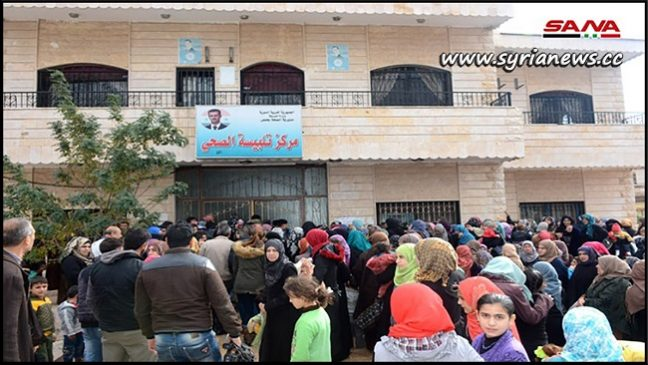 Russian Medical Team Providing Services to People of Talibesseh - Homs Countryside - SANA