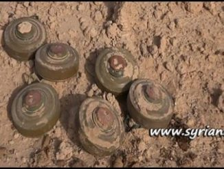 US-Sponsored Terrorists Plant Land Mines and IED in Syria - Landmine - IED - Explosives