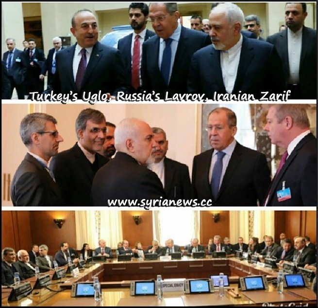 Syria Constitutional Committee Talks Geenva Russia, Turkey, Iran