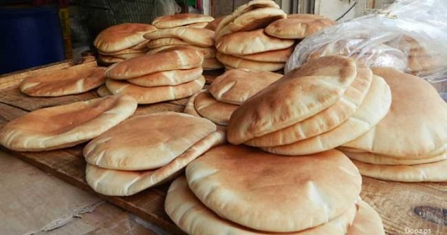 Syrian Bread - Subsidized in Syrian Budget