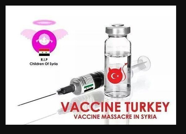 vaccine turkey - syria children