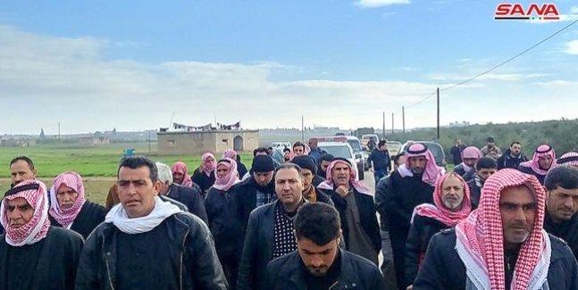 idp's returning to deir ezzor villages