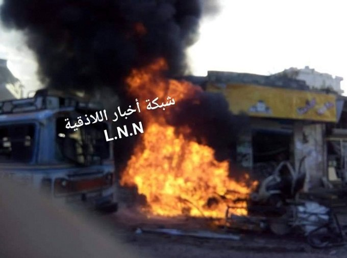 takfiri bombing in lattakia 22 jan