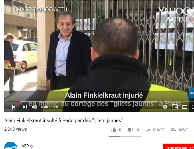 insulted & injured afp - Finkielkraut