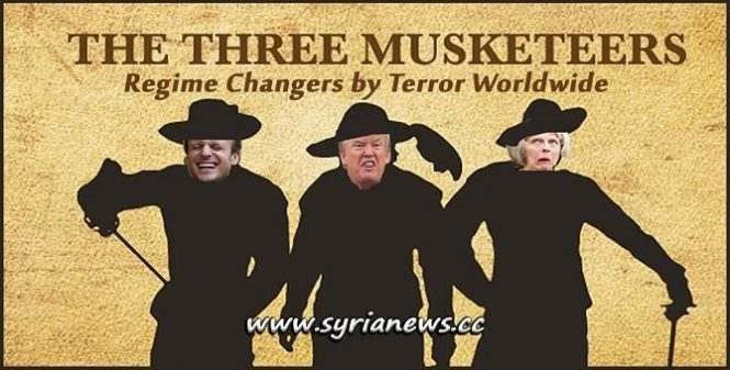 The Three Musketeers P3 at UNSC Regime Changers by Terror and Intimidation Worldwide