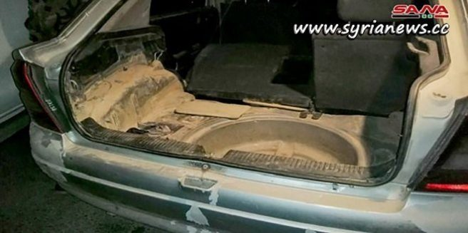 Booby-trapped car dismantled in AlZahraa District - Homs