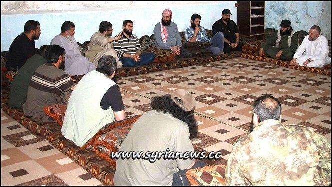 Nusra Front Commander Jolani Meets Commanders of FSA Moderate Rebels in Idlib with help of Erdogan