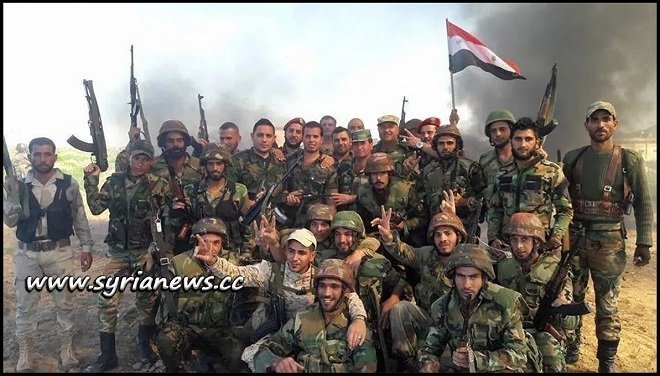 Syrian Arab Army SAA Soldiers - hama - idlib