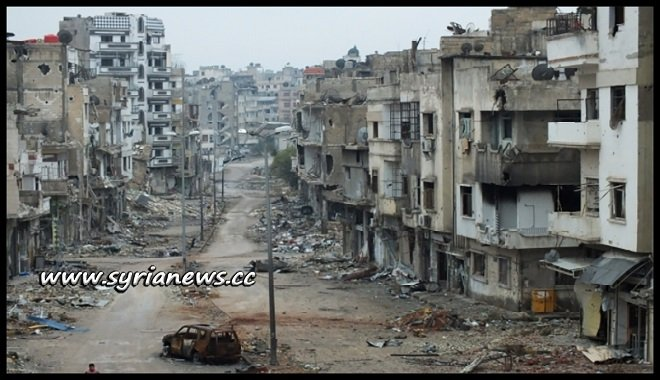 What Hamas and its FSA Nusra Front and ISIS affiliates did to Yarmouk Camp south of Damascus